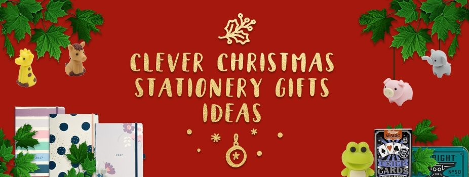 Blog Post Image: Christmas Stationery Gift Ideas