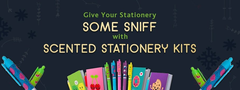 Blog Post Image: Scented Stationery kits