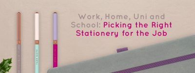 Blog Post Image: Picking the Right Stationery for the Job