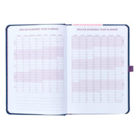 Busy B Mid-Year Diary shows the year planner pages for 2017/2018
