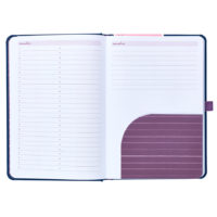 Busy B Mid-Year Diary - shows pocket and lined paper