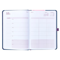 Busy B Mid-Year Diary another showing a planner page in the diary