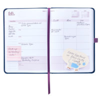 Busy B Mid-Year Diary - inside view