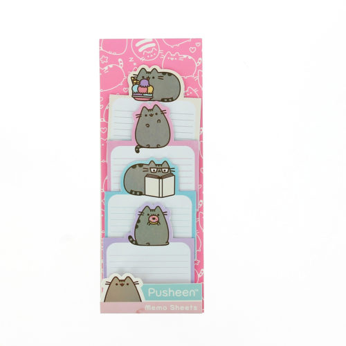 pusheen stationery- Memo Sheets
