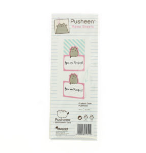 pusheen stationery Memo Sheets