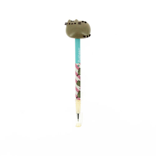 pusheen Ballpoint Pen with 3D pen Topper