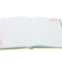 Pusheen Stationery Plush Notebook inside lined paper