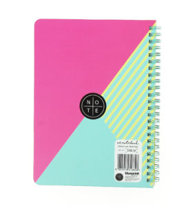 Girl Gang A5 Wiro Notebook view from the back