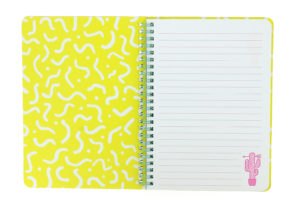 inside view of the Girl Gang A5 Wiro Notebook