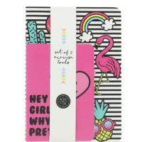 Girl Gang Exercise Book Set packaged front view