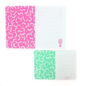 Girl Gang Exercise Book Set inside view of notebooks