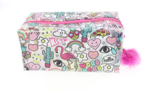 Large Girl Gang Pencil Case side view