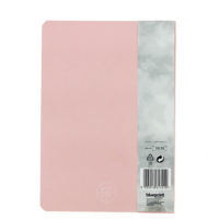 back view of the pink journal
