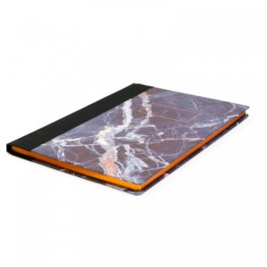 Ohh Deer Marble Quarterbound Notebook A4 lifestyle image