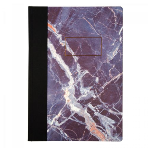 Ohh Deer Marble Quarterbound Notebook A4 front view