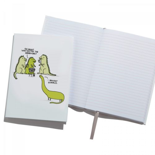 Ohh Deer 'Herbivore' A5 Notebook front view