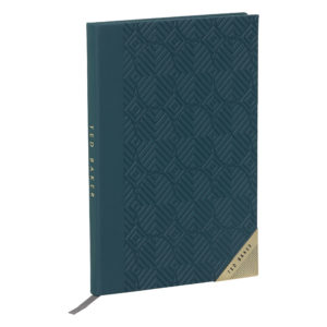 Ted Baker A5 Notebook teal front life