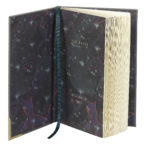 Ted Baker A5 Notebook Ash Grey inside view