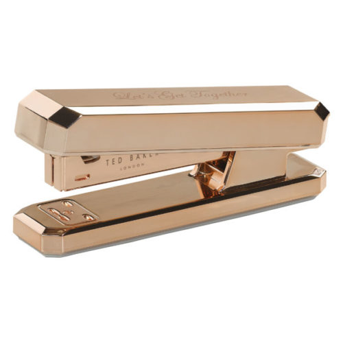 Ted Baker Rose Gold Stapler Side Unboxed
