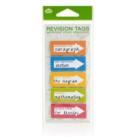 NPW 'Get The Hint Revision' Sticky Notes