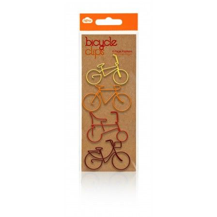 Bicycle Paper Clips - With Packaging