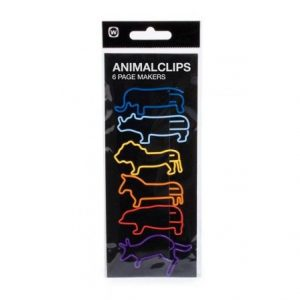 Animal Zoo Paper Clips