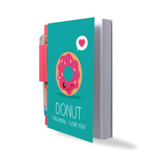 Sketch & Sniff Notebook - Donut - Angled