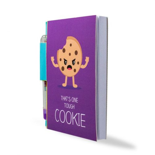 Sketch & Sniff Notebook With Pen - Cookie - Angled
