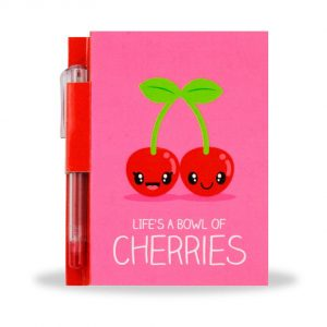 Sketch & Sniff Notebook With Pen - Cherry