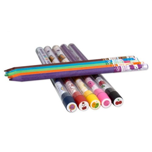 Scented Coloured Pencils (10 Pack) - Top View