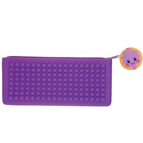Purple Smencil Buddy Pencil Case - Jelly Donut - Front