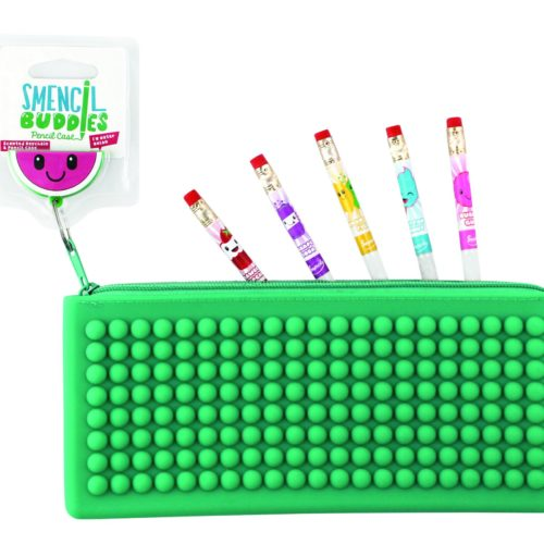Green Smencil Buddy Pencil Case - Watermelon