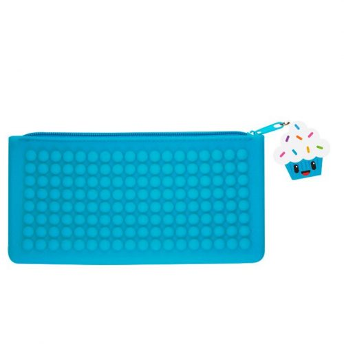 Blue Smencil Buddy Pencil Case - Cupcake - Front