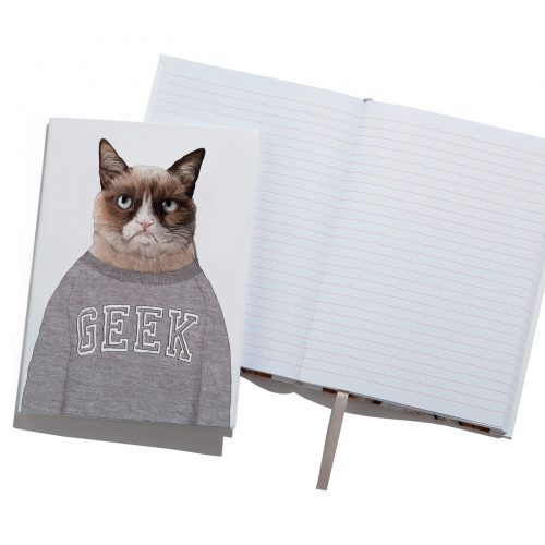 Grumpy Cat A5 Notebook