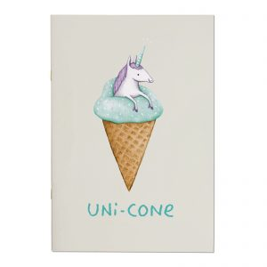 Unicone A4ish Notebook