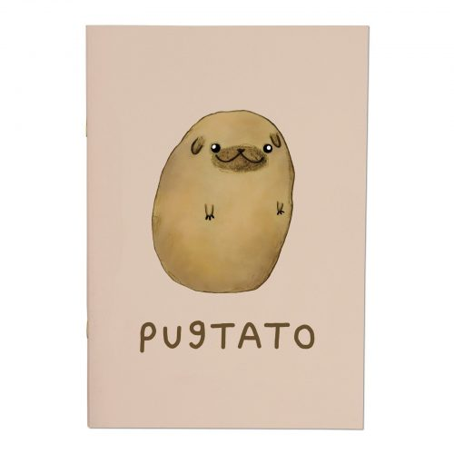 Pugtato A4ish Notebook