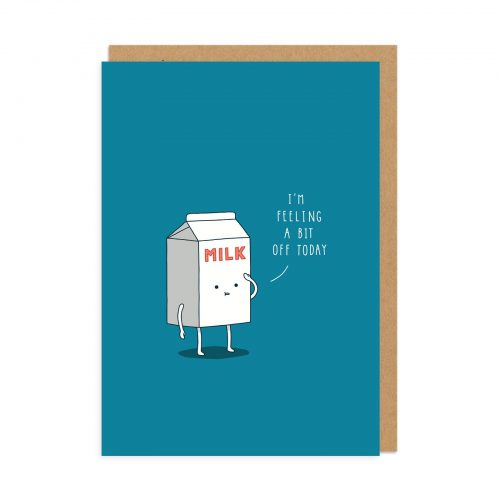 Milk Greeting Card