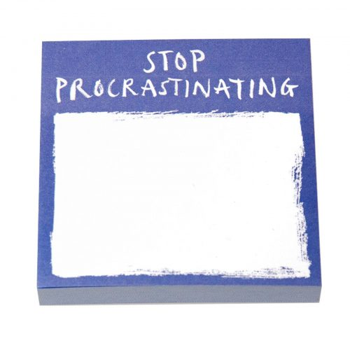 Stop Procrastinating Post It Notes