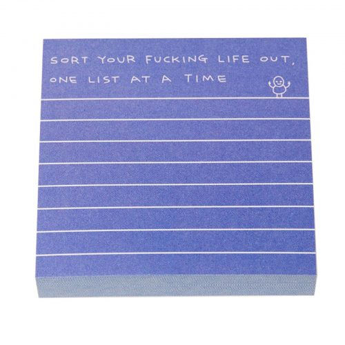 Sort Your Life Out Post It Notes