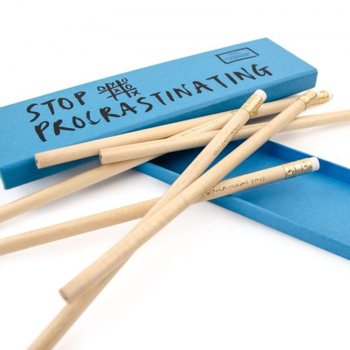 Ohh Deer 'Stop Procrastinating' Pencil Set