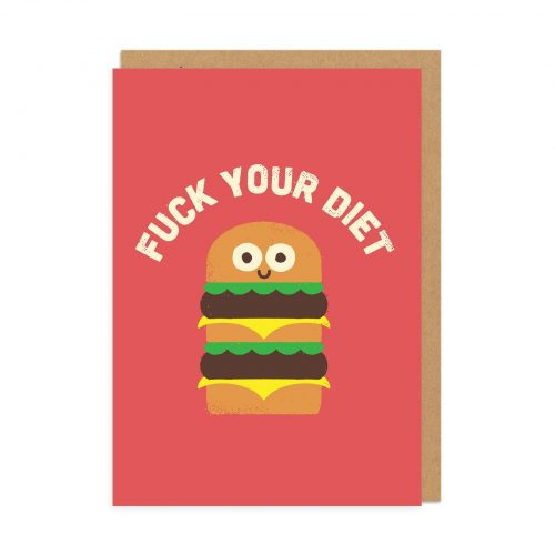 Discounting Calories Greeting Card