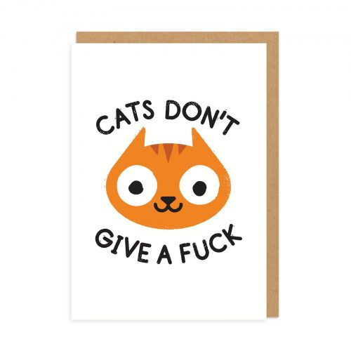 Careless Whiskers Greeting Card