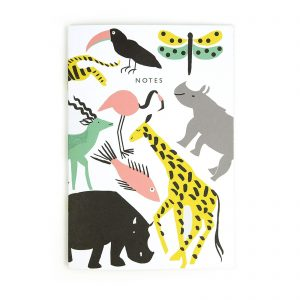 Lucie Animals A4ish Notebook