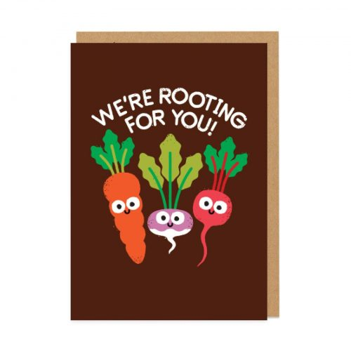 Motivegetable Speakers Greeting Card