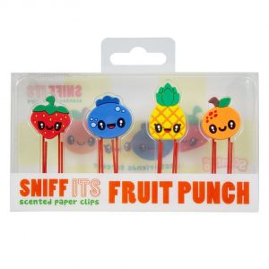 Scented Fruit Punch Paper Clips