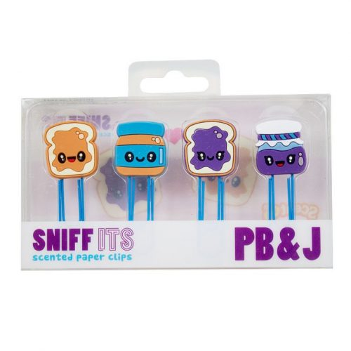 Scented Peanut Butter & Jelly Paper Clips