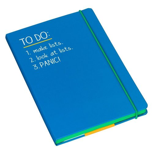 Happy Jackson A5 'To Do' Notebook - Angled