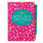 Happy Jackson A7 Mini Notepad with Pencil - Front Cover