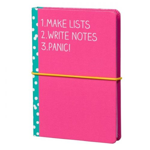 Pink and Blue Sticky Note Set - Angled