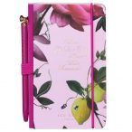 Ted Baker 'Citrus Bloom' Mini Notebook and Pen - Front Cover